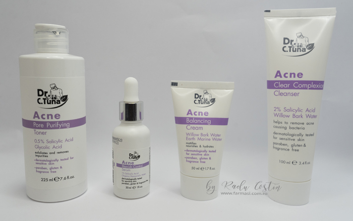 Tratament Acnee Farmasi